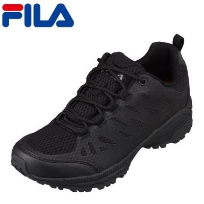 フィラ FILA F6217 メンズ   カジュアルシューズ   小さいサイズ対応 大きいサイズ対応   防水 透湿 雨の日   ブラック