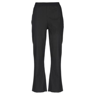 ツインセット シモーナ バルビエリ TWINSET パンツ ブラック 38 コットン 97% / ポリウレタン 3% パンツ