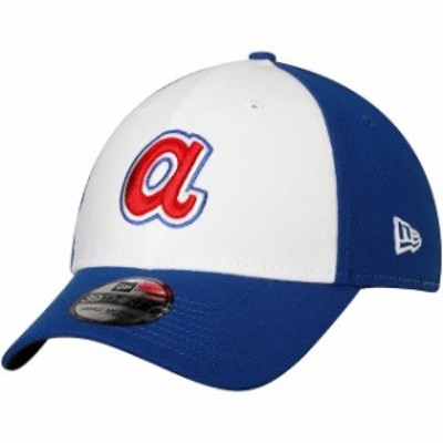 New Era ニュー エラ スポーツ用品  New Era Atlanta Braves White Cooperstown Collection Team Classic 39THIRTY Flex Hat