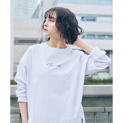 tシャツ Tシャツ [NUMERALS]BIGスリットロンT