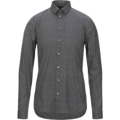 パトリツィア ペペ PATRIZIA PEPE メンズ シャツ トップス patterned shirt Black