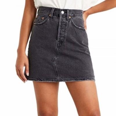 リーバイス Levis レディース スカート high-waisted deconstructed skirt Regular Programming