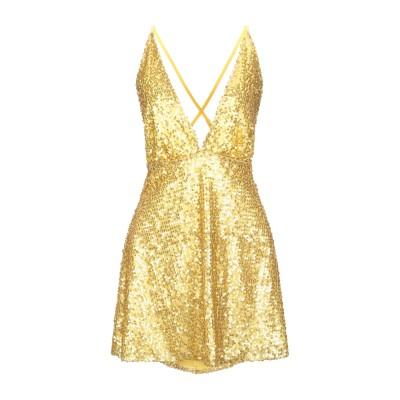 VICOLO ミニワンピース&ドレス イエロー M ポリエステル 100% ミニワンピース&ドレス