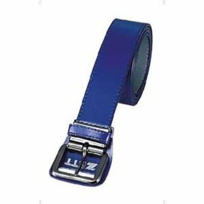 ゼット 野球・ソフトボール用ベルト(ロイヤルブルー ) ZETT つや消し裏付きベルト Z-BX61-2500 【返品種別A】