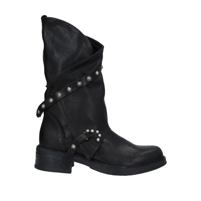 OVYE' by CRISTINA LUCCHI ブーツ ブラック 38 柔らかめの牛革 ブーツ