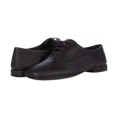 ECCO エコー レディース 女性用 シューズ 靴 オックスフォード ビジネスシューズ 通勤靴 Anine Squared Tie - Black Cow Leather