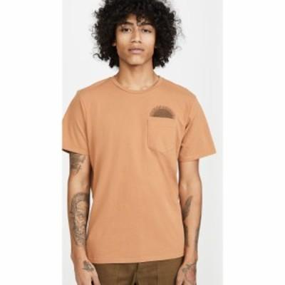 モルスク Mollusk メンズ Tシャツ トップス Country Sun Short Sleeve Tee Orange Earth