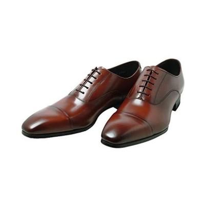 [リーガル] 10LR ブラウン 茶色、ブラック 黒色の メンズ用 ドレス ビジネスシューズ 靴 (ブラウン 24.5 cm)