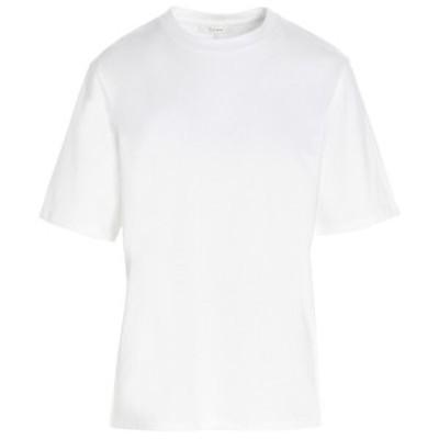 THE ROW/ザ ロウ White Basic t-shirt レディース 春夏2021 5739K220WHT ju