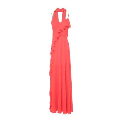 GAI MATTIOLO ロングワンピース&ドレス レッド 48 ポリエステル 100% ロングワンピース&ドレス