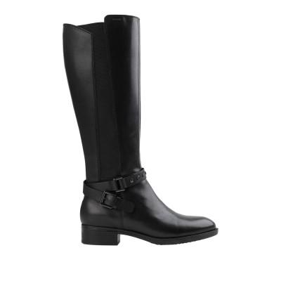 ジェオックス GEOX ブーツ ブラック 36 革 / 指定外繊維(その他伸縮性繊維) ブーツ