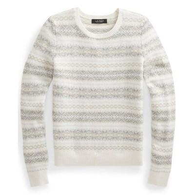 ラルフローレン ニット&セーター アウター レディース Fair Isle Wool-Blend Sweater Farro Heather