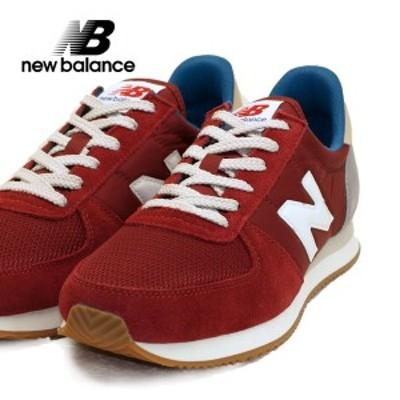 ニューバランス New Balance U220 DE2 レトロランニングシューズ スニーカー 赤 0220 レディース/メンズ