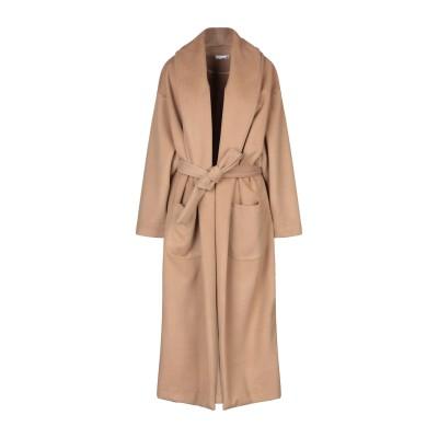 SIMONA-A コート キャメル XS ポリエステル 92% / 指定外繊維(その他伸縮性繊維) 8% コート
