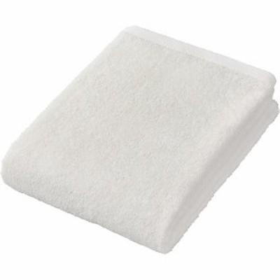 さらっと吸水 バスタオル ホワイト 約60*120cm(1枚)[日用品 その他]