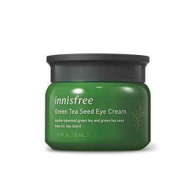イニスフリー(Innisfree) グリーンティーシードアイクリーム 30ml : 16アミノ酸3.5倍濃縮美緑茶成分が開きます 乾燥した肌の湿気のパス湿った透明な肌を提供します。 ::韓