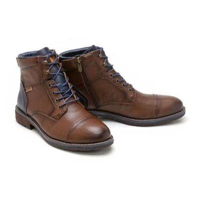 ブーツ メンズ ブラウン ピコリノス PIKOLINOS メンズ カジュアルシューズ m2m-8170ngbr ブラウン ヨーク 正規通販