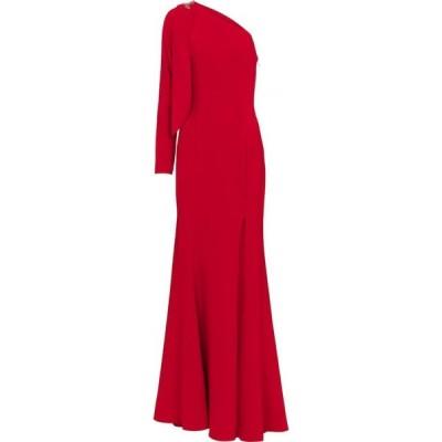 ノッテ バイ マルケッサ Marchesa Notte レディース パーティードレス ワンピース・ドレス one-shoulder embellished cady gown Red