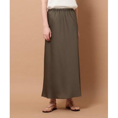 DRESSTERIOR(Ladies)(ドレステリア(レディース)) サテンナロースカート