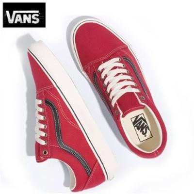 バンズVansスニーカー靴ヴァンズ オールドスクール レッド Old Skool Earth Chilli Pepper靴VN0A4BV521J