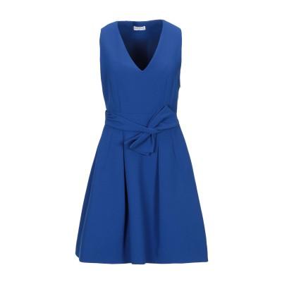 CLAUDIE PIERLOT ミニワンピース&ドレス ブライトブルー 38 ポリエステル 100% ミニワンピース&ドレス