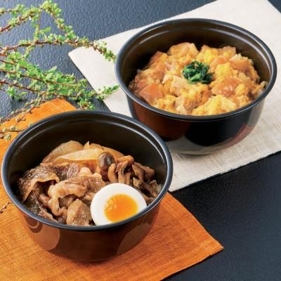 「祇園さゝ木」 親子丼&牛すき煮丼セット (2種計5食)