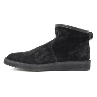 DELUXE デラックス ブーツ × RFW スウェード ペコスブーツ PECOS BOOT ブラック US10(28cm) 【メンズ】【美品】【中古】【K2701】