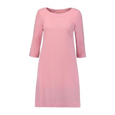 ゴート GOAT ミニワンピース&ドレス ピンク 14 ウール 100% ミニワンピース&ドレス
