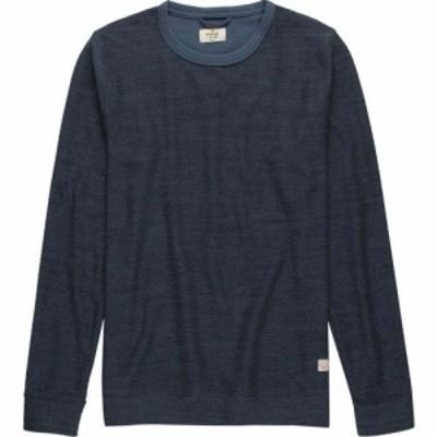 マリーン レイヤー Marine Layer メンズ スウェット・トレーナー トップス Boucle Sweatshirt Midnight Navy/Black
