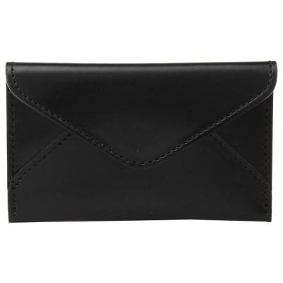 ルチーズ メンズ 財布 アクセサリー Flat Leather Business Card Case