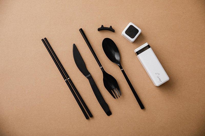 S+ Cutlery 五合一玻璃纖維歐應環保餐具