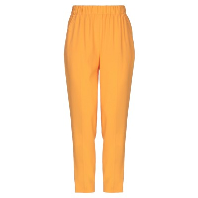 エスカーダ ESCADA パンツ オレンジ 34 トリアセテート 83% / ポリエステル 17% パンツ