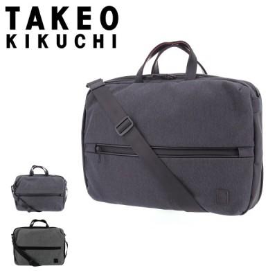 タケオキクチ ビジネスバッグ B4 3WAY ストーム メンズ 740502 TAKEO KIKUCHI | リュック ブリーフケース 撥水 軽量 キャリーオン
