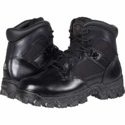 ロッキー Rocky レディース シューズ・靴 Alpha Force Waterproof 6 Public Service Soft Toe Black