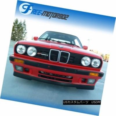 84-92 BMW E30 3シリーズM-TechスタイルPUバンパー下部バランシングフロントバンパーリップ