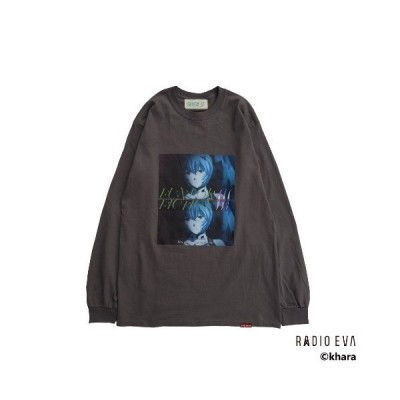 tシャツ Tシャツ 【W】【it】【RADIO EVA×FUN/FOR/FICTION×NOT CONVENTIONALコラボ】Ayanami L/S