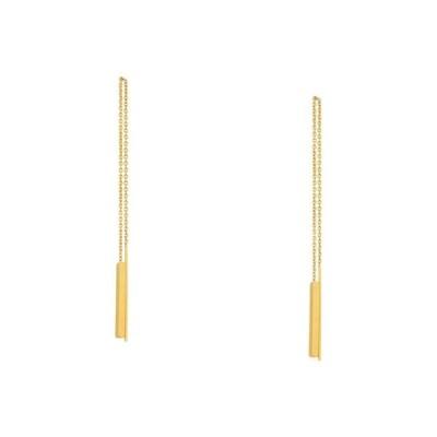 メイドウェル Madewell レディース イヤリング・ピアス アメリカンピアス ジュエリー・アクセサリー Delicate Threader Earrings Vintage Gold