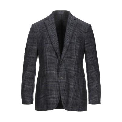 トラサルディ ジーンズ TRUSSARDI テーラードジャケット ダークブルー 50 ウール 63% / ポリエステル 22% / ナイロン 15%
