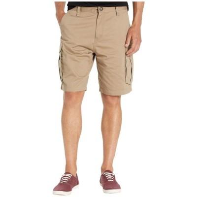 ボルコム Volcom メンズ ショートパンツ カーゴ ボトムス・パンツ Bevel 20' Cargo Shorts Khaki