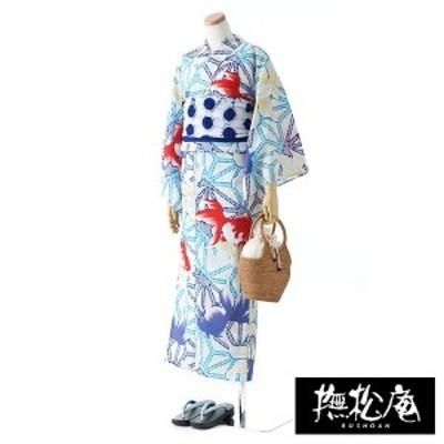 撫松庵(BUSHOAN)/麻の葉金魚