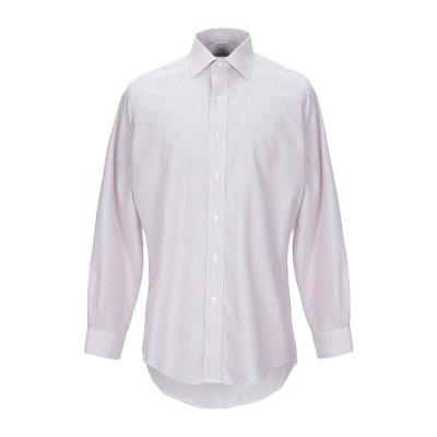 ブルックス ブラザーズ BROOKS BROTHERS シャツ ボルドー 14 ½ スーピマ® 100% シャツ