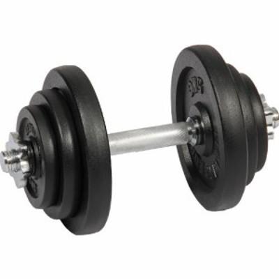 リーディングエッジ (LEADING EDGE) アイアンダンベル 20kg 単品 LE-IDB20 【トレーニング器具 スポーツ用品 筋トレ ベンチプレス ダン