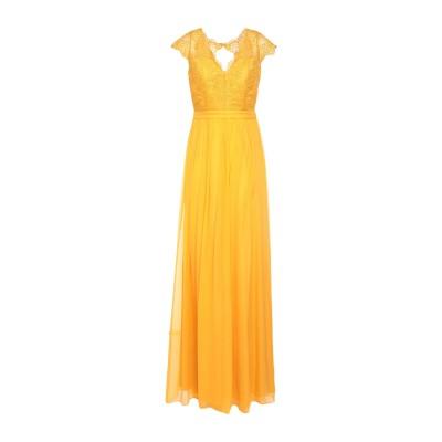 BY MALINA ロングワンピース&ドレス オークル M シルク 100% ロングワンピース&ドレス
