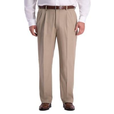 ハガー メンズ カジュアルパンツ ボトムス Big & Tall HaggarR Cool 18 PRO Classic Fit Pleated Pants