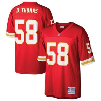 """ミッチェル&ネス メンズ レプリカジャージー Derrick Thomas """"Kansas City Chiefs"""" Mitchell & Ness Retired Player Legacy Replica Jersey - Red"""