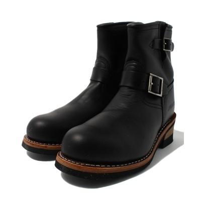 AVIREX / avirex/アヴィレックス/HORNET/ホーネット エンジニアブーツ/ 「FUDGE5月号掲載商品 ブラックカラー着用」 MEN シューズ > ブーツ