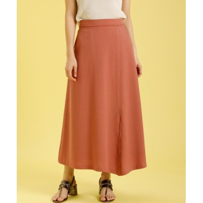 SUPERIOR CLOSET / リネンライクアシンメトリースカート《KF SHORE》【美人百花6月号掲載】 WOMEN スカート > スカート