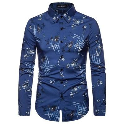シャツ メンズ 長袖 開襟 カジュアルシャツ ネルシャツ メンズ シャツ ワイシャツ トップス スリム おしゃれ 長袖シャツ cy16