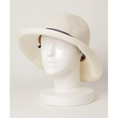 collex / 【洗える・畳める・UV加工】中折れウォッシャブルハット WOMEN 帽子 > ハット