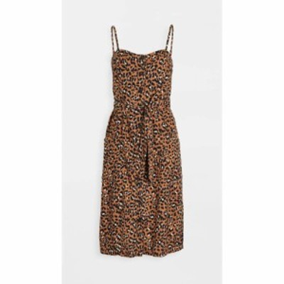 レイルズ RAILS レディース ワンピース ワンピース・ドレス evie dress Golden Leopard